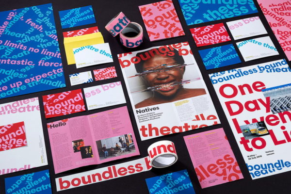 Boundless Theatre Branding