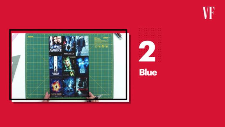 James Verdesotoによる、映画ポスターの色彩設計解説動画